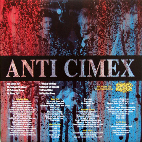 "ANTI-CIMEX ""The Records 81-86"" LP"
