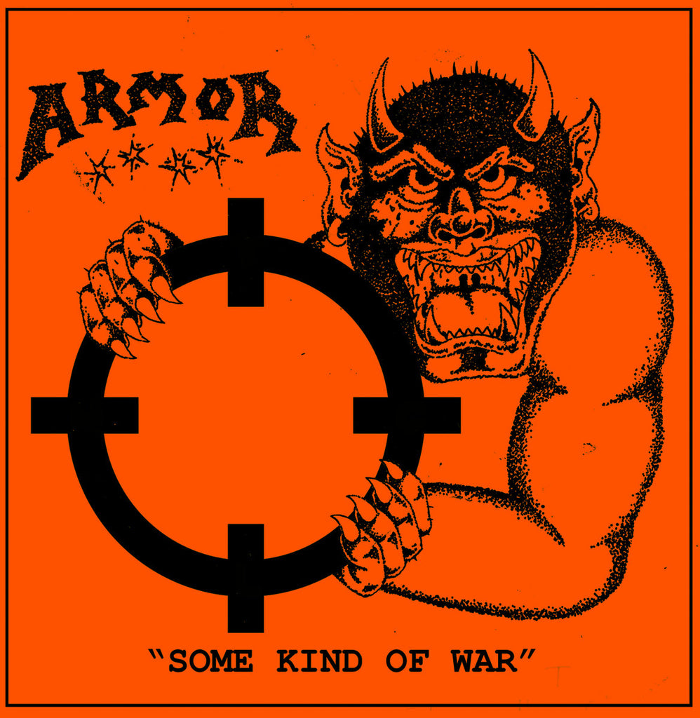 "ARMOR ""Some Kind of War"" 7"""