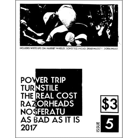 AS BAD AS IT IS Zine - Issue #5