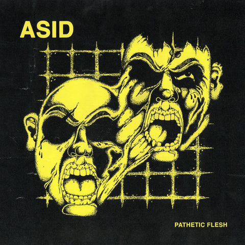 "ASID ""Pathetic Flesh"" LP"