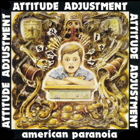 "ATTITUDE ADJUSTMENT ""American Paranoia"" LP/DVD"