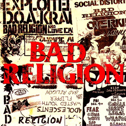 "BAD RELIGION ""All Ages"" LP"