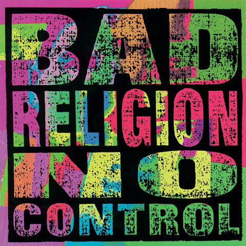 "BAD RELIGION ""No Control"" LP"