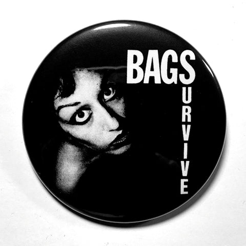 "Bags ""Survive"" (1"", 1.25"", or 2.25"") Pin"