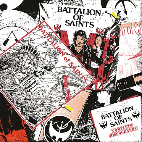 "BATTALION OF SAINTS ""Complete Discography"" 3xLP Set"