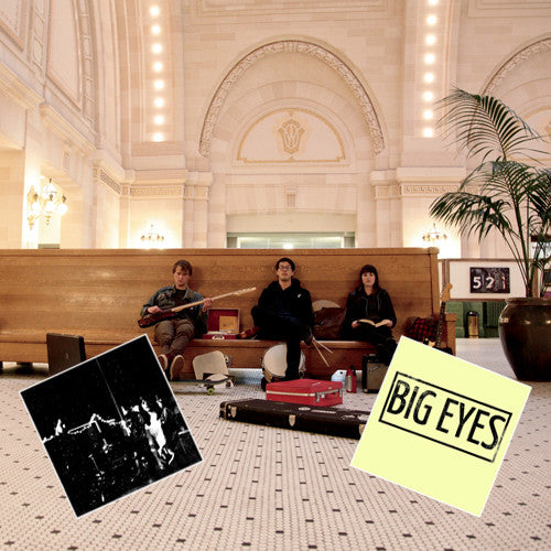 "BIG EYES Almost Famous"" LP w/ Both 7""s Package"