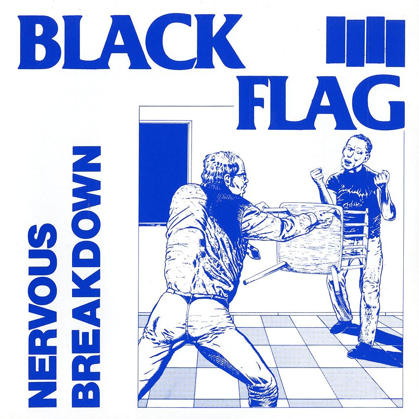 "BLACK FLAG ""Nervous Breakdown"" 7"""