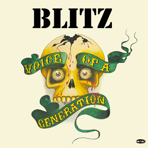 "BLITZ ""Voice of a Generation"" LP"