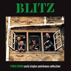 "BLITZ ""Time Bomb (Early Singles Collection)"" LP"