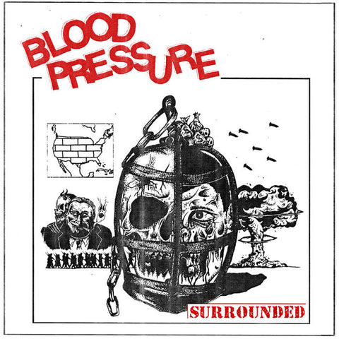"BLOOD PRESSURE ""Surrounded"" LP"