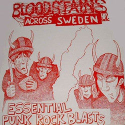 "V/A ""Bloodstains Across Sweden"" Compilation LP"