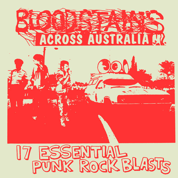 "V/A ""Bloodstains Across Australia"" Compilation LP"