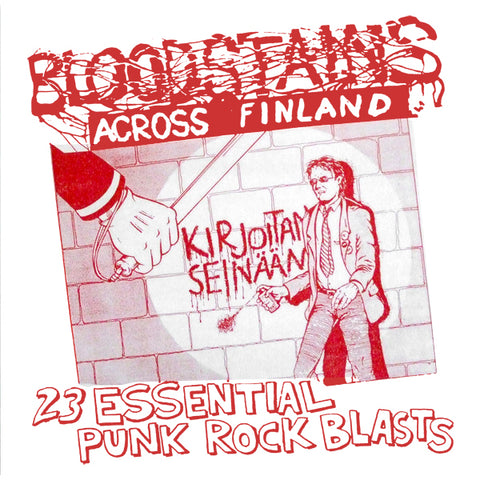 "V/A ""Bloodstains Across Finland"" Compilation LP"
