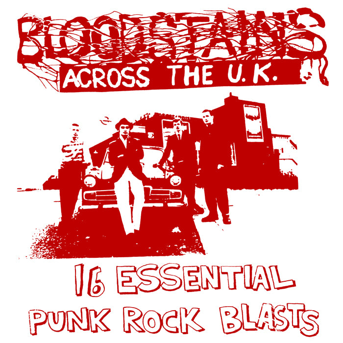 "V/A ""Bloodstains Across the UK Vol. 2"" Compilation LP"