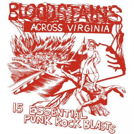 "V/A ""Bloodstains Across Virginia"" Compilation LP"