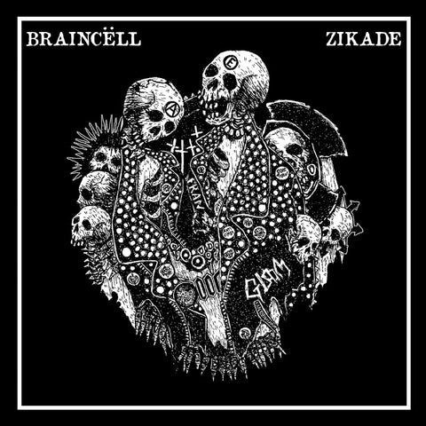 BRAINCELL / ZIKADE Split 7""