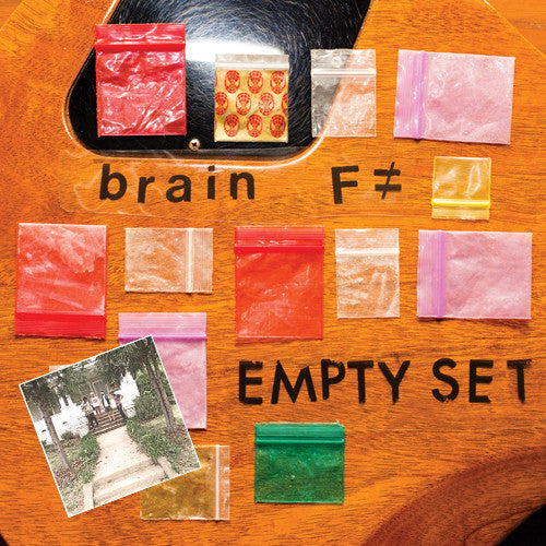 "BRAIN F ""Empty Set"" / ""Sleep Rough"" LP Combo"