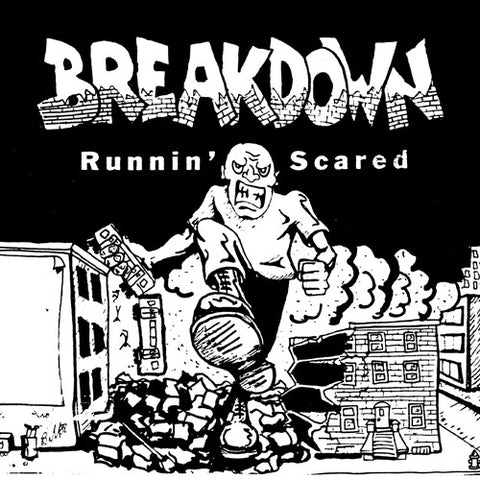 "BREAKDOWN ""Runnin' Scared"" LP"