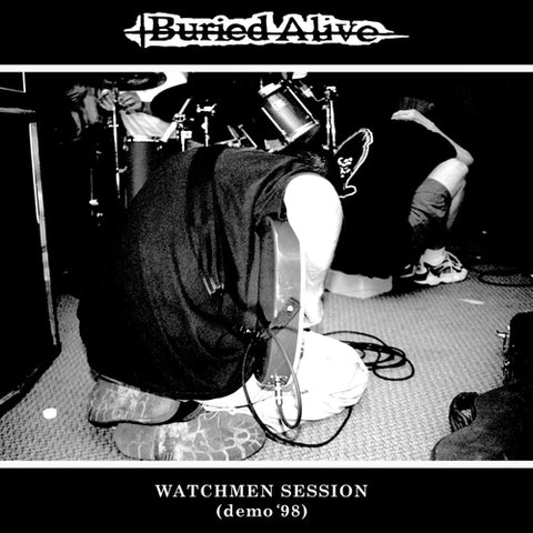 "BURIED ALIVE ""Watchmen Sessions (Demo '98)"" 7"""