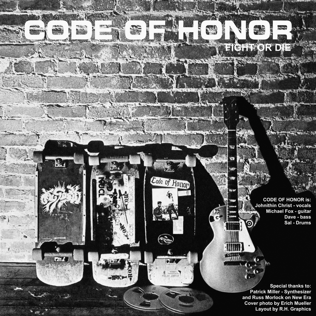 CODE OF HONOR / SICK PLEASURE Split LP