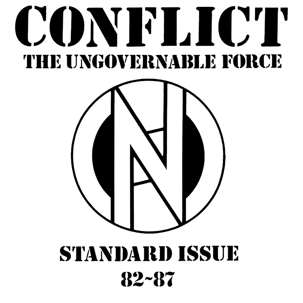 "CONFLICT ""Standard Issue 1982-87"" LP"