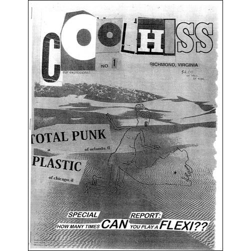 COOL HISS ZINE Issue #1