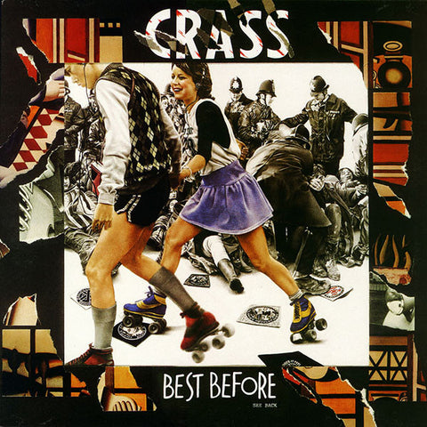 "CRASS ""Best Before 1984"" 2xLP"