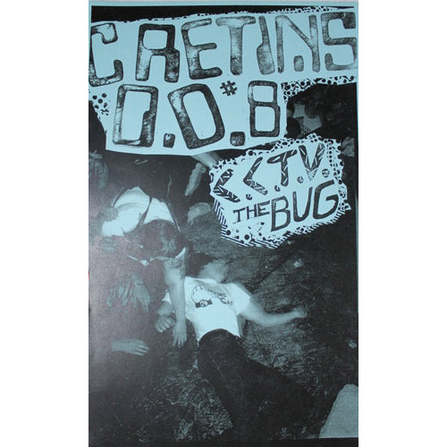 CRETINS OF DISTORTION #8 Zine