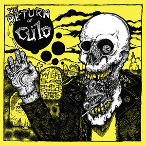 "CULO ""My Life Sucks and I Could Care Less"" LP"
