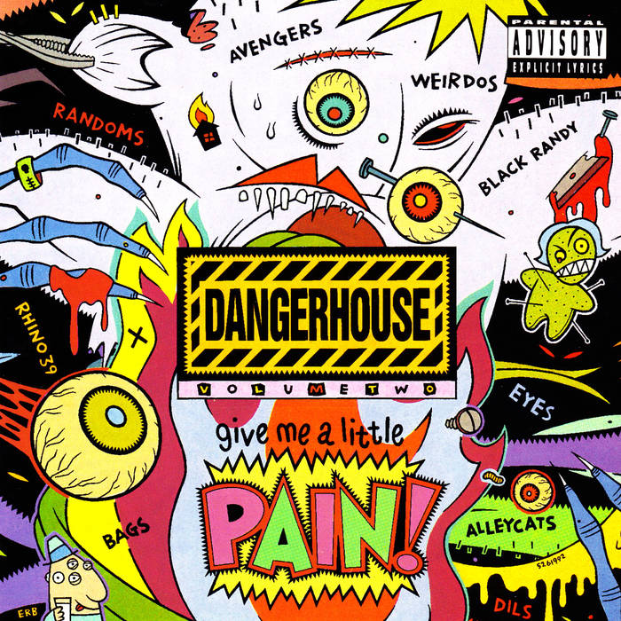 "V/A ""Dangerhouse Vol. 2"" Singles Compilation LP"
