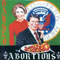 "DAYGLO ABORTIONS ""Feed Us a Fetus"" LP"