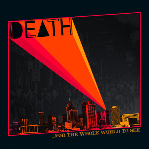 "DEATH ""For the Whole World to See"" LP"