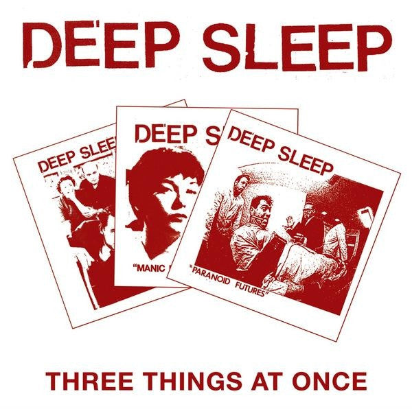 "DEEP SLEEP ""Three Things at Once"" CD"