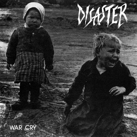 "DISASTER ""War Cry"" LP w/ Flexi"