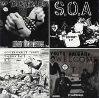 "V/A ""Dischord Records: Four Old 7""s on a 12"""" Comp. LP"
