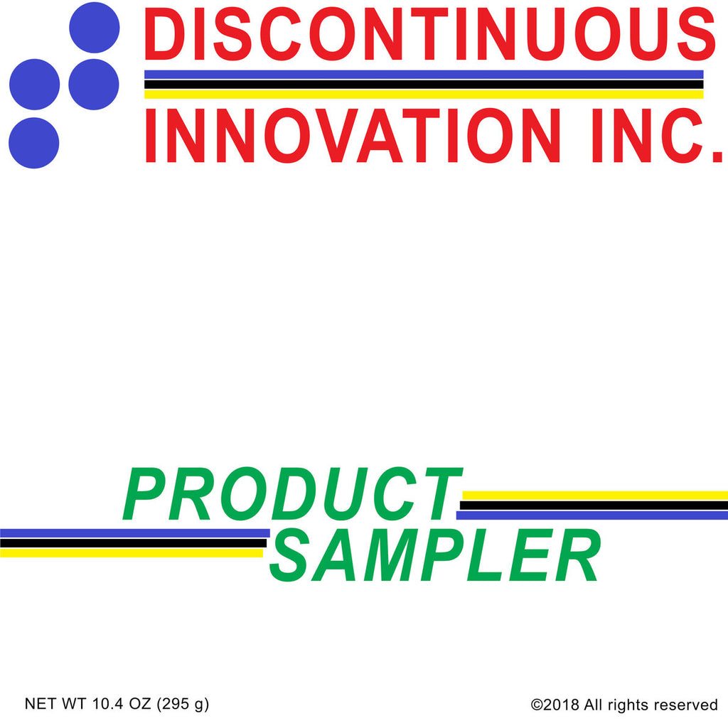 "V/A ""Discontinuous Innovation Inc. Product Sampler"" Compilation LP"