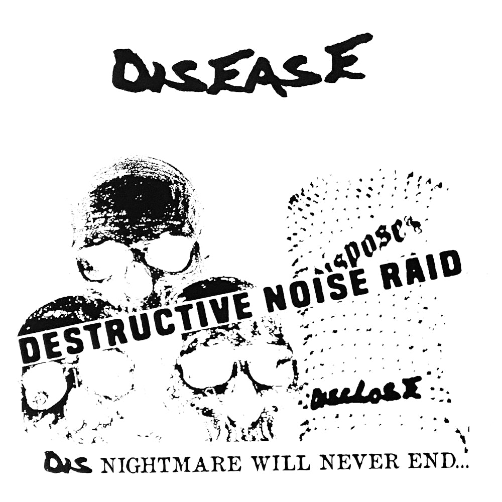 "DISEASE ""Destructive Noiseraid"" 7"""