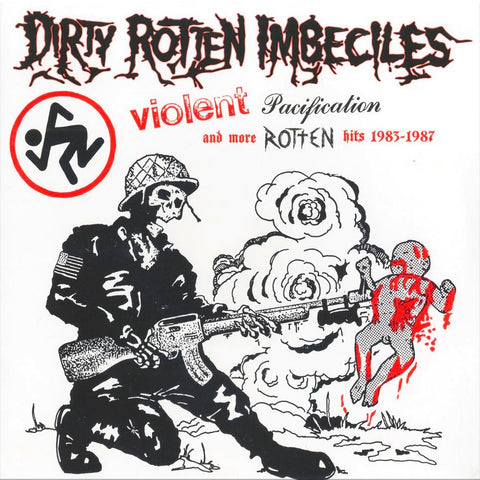 "DRI ""Violent Pacification and More Rotten Hits"" LP"