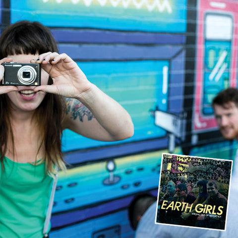 "EARTH GIRLS ""Wanderlust"" LP w/ Wrong Side of History 7"""
