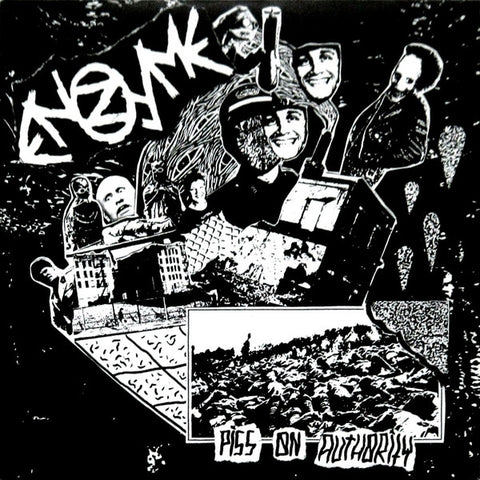 "ENZYME ""Piss on Authority"" 7"""