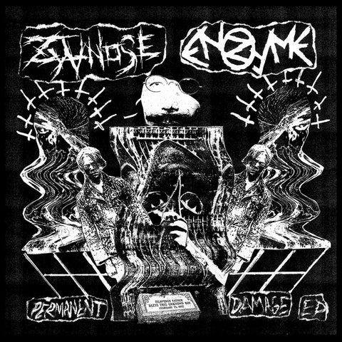 "ENZYME / ZYANOSE ""Permanent Damage"" Split 7"""
