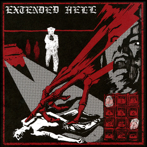 "EXTENDED HELL ""4 Track EP"" 7"""
