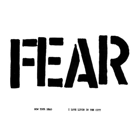 "FEAR ""Fuck Christmas / I Love Livin' in the City "" 7"""