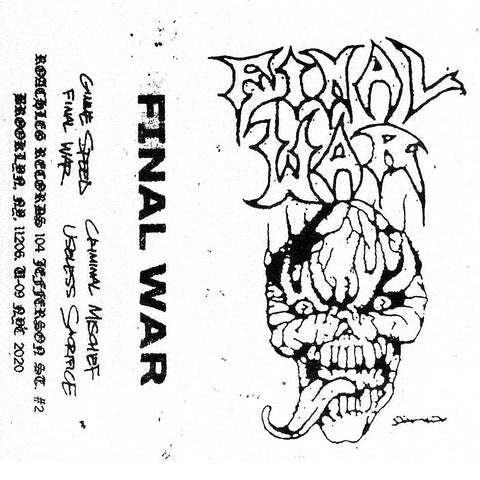 FINAL WAR Demo Tape