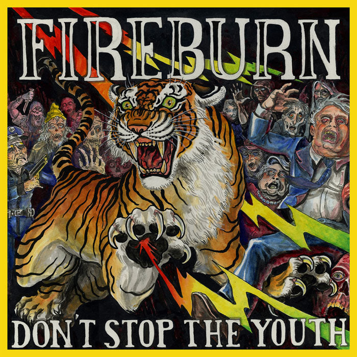 "FIREBURN ""Don't Stop The Youth"" 12"""