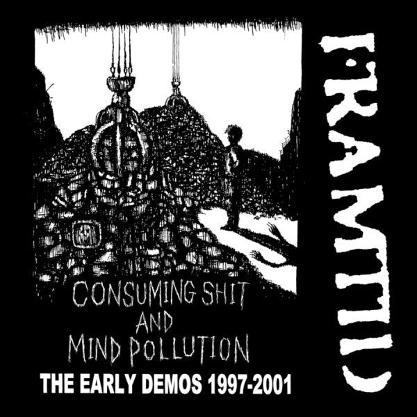 "FRAMTID ""Consuming Shit and Mind Pollution"" CD"