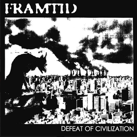 "FRAMTID ""Defeat of Civilization (UK Press)"" LP"