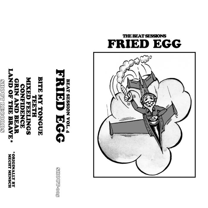 "FRIED EGG ""Beat Session Vol. 4"" Tape"