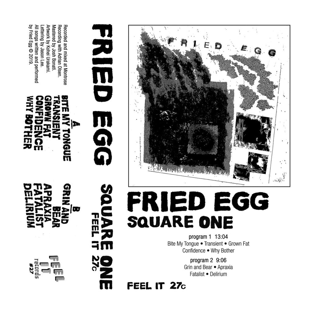 "FRIED EGG ""Square One"" Tape"