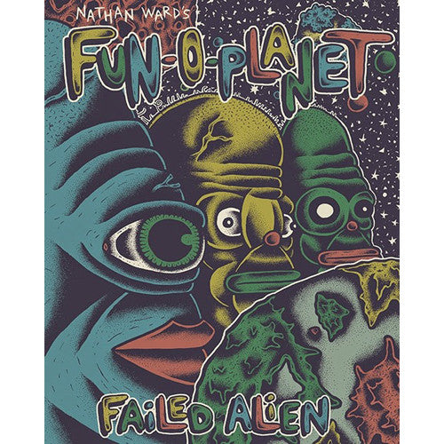 """Nathan Ward's FUN-O-PLANET #1: Failed Alien"" Comic Book"